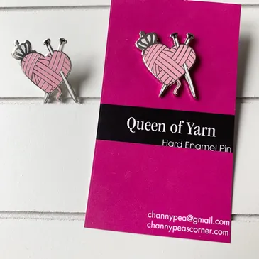 Enamel Pins by Channypeascorner
