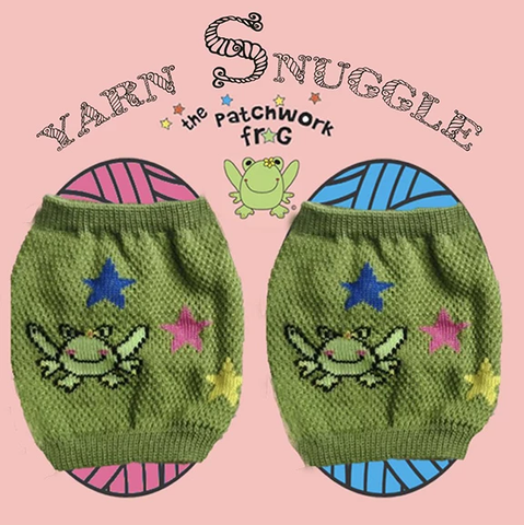 The Patchwork Frog Yarn Snuggle