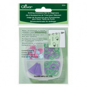 Clover Knitting Accessory Set for Beginners