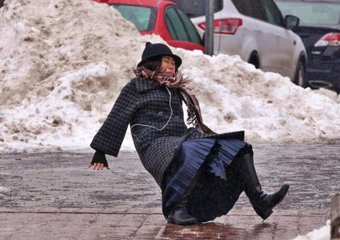 SNOW FALLS BUT YOU SHOULDN'T - Avoiding Mishaps on Ice & Snow
