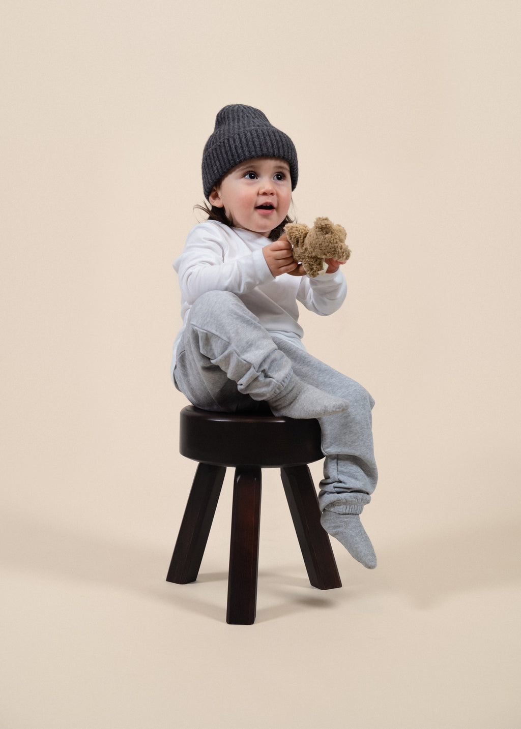 Y-0006 Kids Beanie - Dark Grey