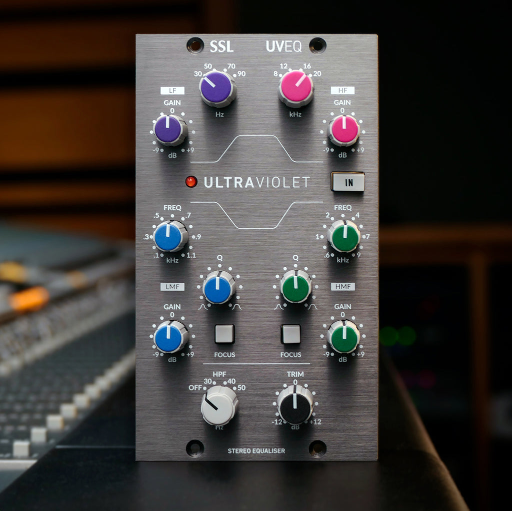 Get the NEW UltraViolet EQ from SSL