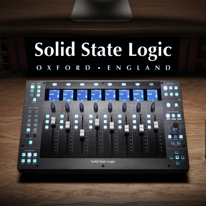 Solid State Logic | Leading the way in Sound & Control