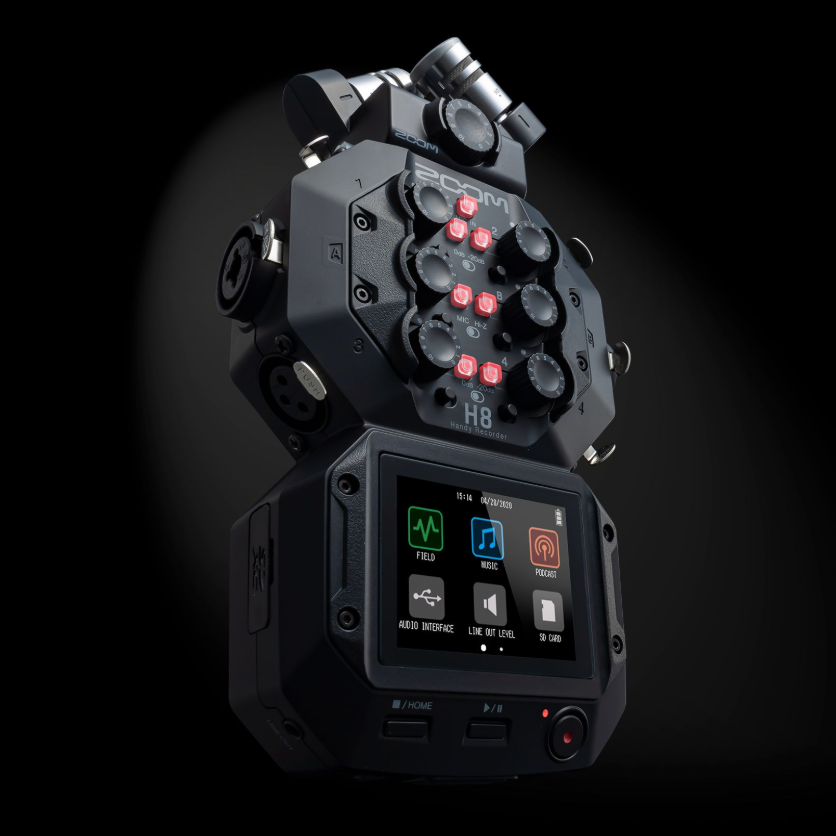 NEW - Zoom H8 8-Input / 12-Track Portable Handy Recorder