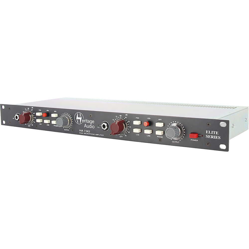 Heritage Audio HA73X2 ELITE- Dual Channel Microphone Preamplifier