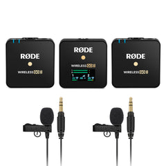 Rode Wireless GO II and LAV GO System Bundle 1