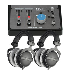 Solid State Logic SSL2+ USB Audio Interface Bundle 3