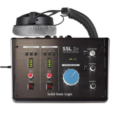 Solid State Logic SSL2+ USB Audio Interface Bundle 1