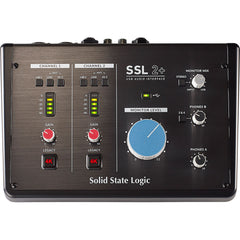 Solid State Logic SSL 2+ Desktop 2x4 USB Type-C Audio/MIDI Interface