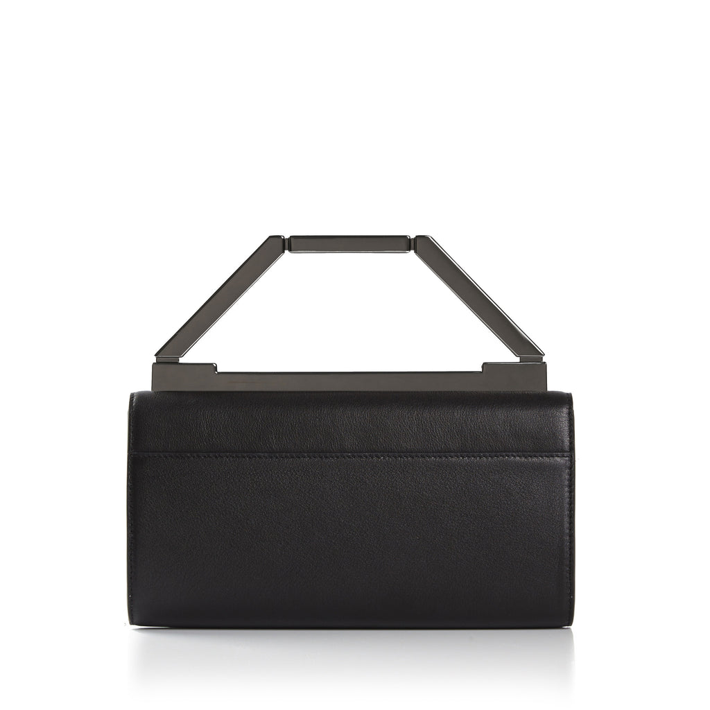 THE NOELLE BAG  <br/> BLACK & GUNMETAL