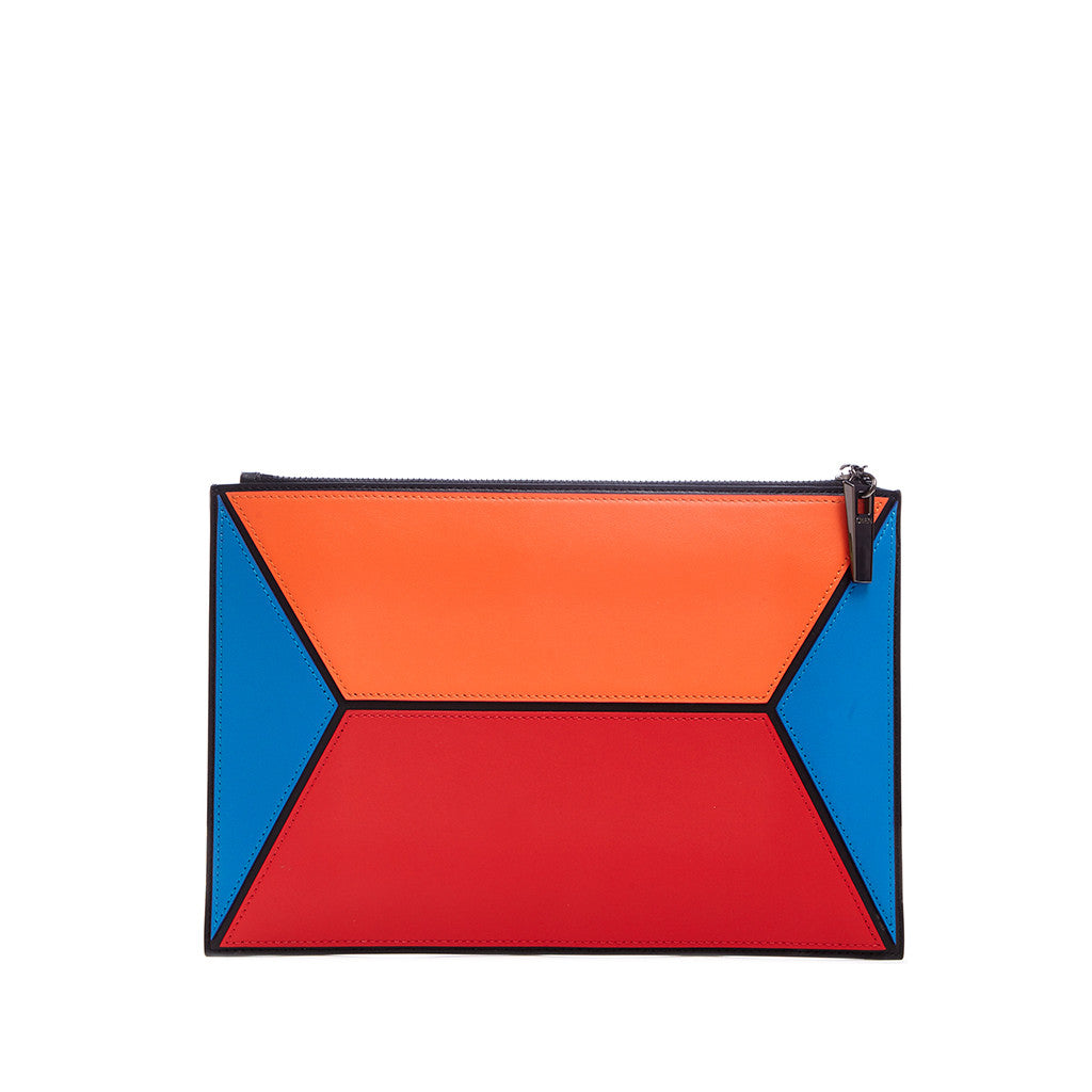 THE OWEN POUCH  <br/> COLOR BLOCK