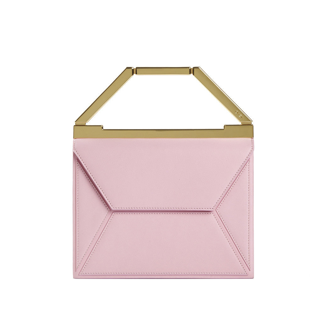 THE EVA BAG <br/> BUBBLEGUM PINK & GOLD