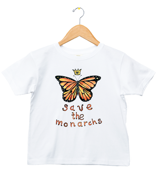 Organic Save the Monarchs T-Shirt