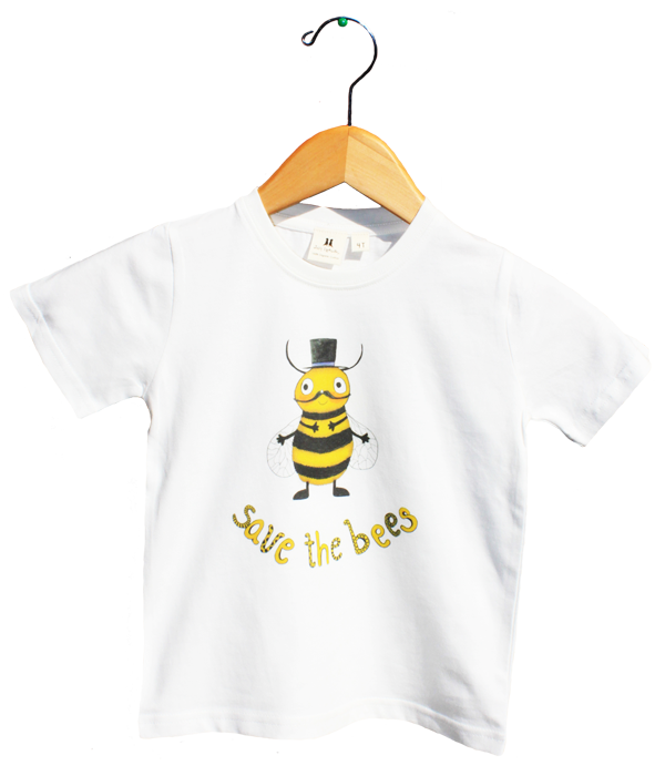 d030781a Organic Save the Bees T-Shirt – Jolly Dragons