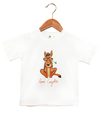 Organic Coyote T-Shirt - Jolly Dragons