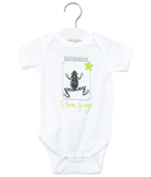 Organic Frog Bodysuit - Jolly Dragons