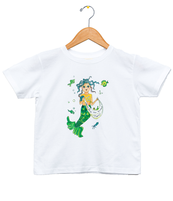 Organic Mermaid T-Shirt - Jolly Dragons