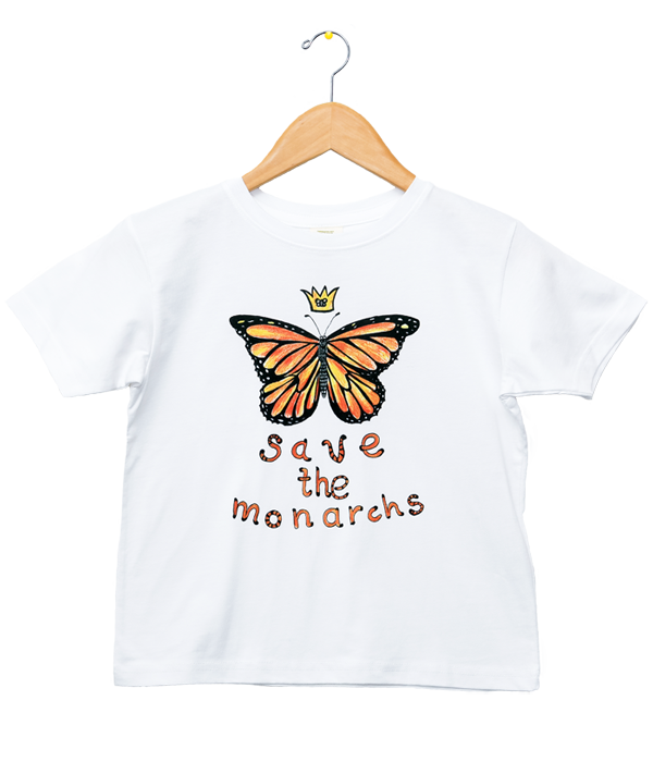 Organic Save the Monarchs T-Shirt - Jolly Dragons