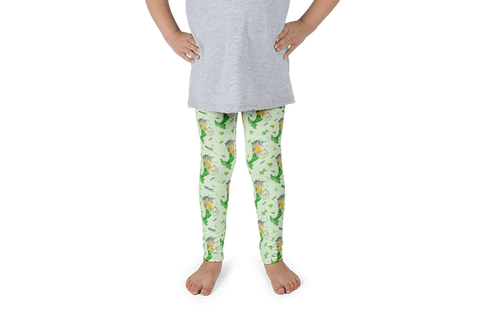 Mermaid Kids Leggings - Jolly Dragons