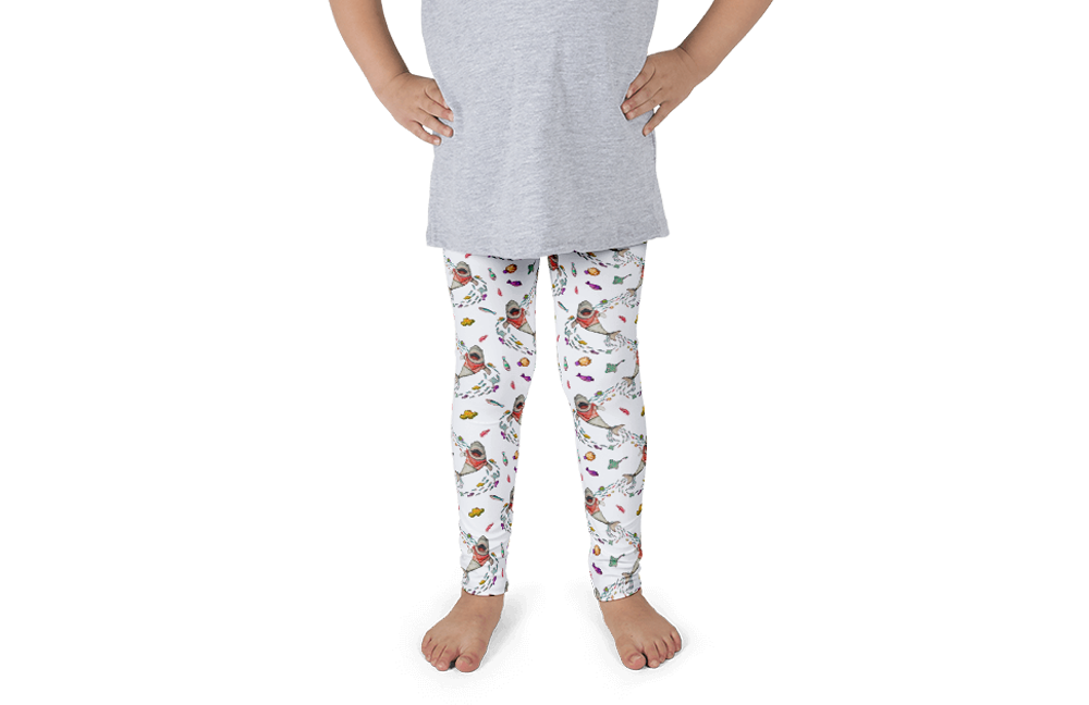 Shark Kids Leggings - Jolly Dragons