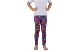 Roses Pink Kids Leggings - Jolly Dragons