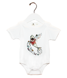 Organic Shark Bodysuit - Jolly Dragons