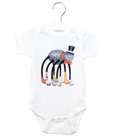 Organic Spider Bodysuit - Jolly Dragons