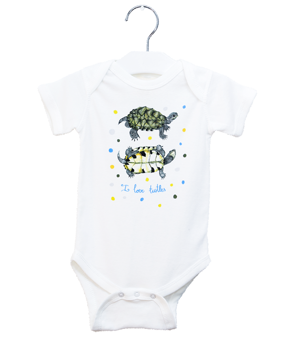Organic Turtles Bodysuit - Jolly Dragons