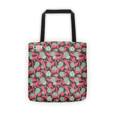 Flowers in Gray Tote - Jolly Dragons