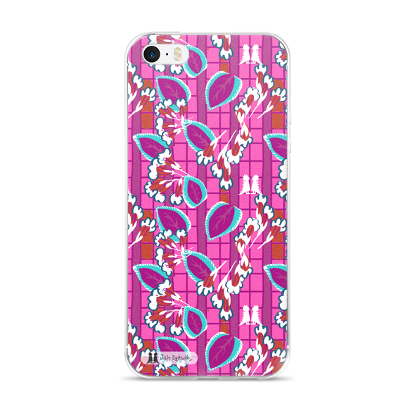 Pink Art Deco iPhone 6/6s, 6/6s Plus Case - Jolly Dragons
