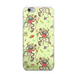 Octopus Green iPhone 6/6s, 6/6s Plus Case - Jolly Dragons