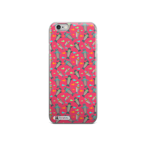Fuchsia Seal iPhone 5/5s/Se, 6/6s, 6/6s Plus Case - Jolly Dragons