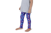 Fourth of July Special Edition Dark Blue Kids Leggings - Jolly Dragons