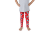 Fourth of July Special Edition Red Kids Leggings - Jolly Dragons