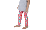 Fourth of July Special Edition Light Red Kids Leggings - Jolly Dragons