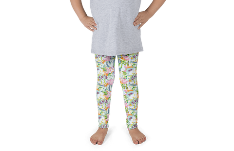Frogs in the Pond Kids Leggings - Jolly Dragons