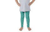 Turquoise Seal Kids Leggings - Jolly Dragons