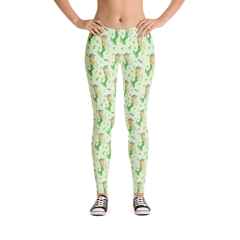 Mermaid Mommy Legging - Jolly Dragons