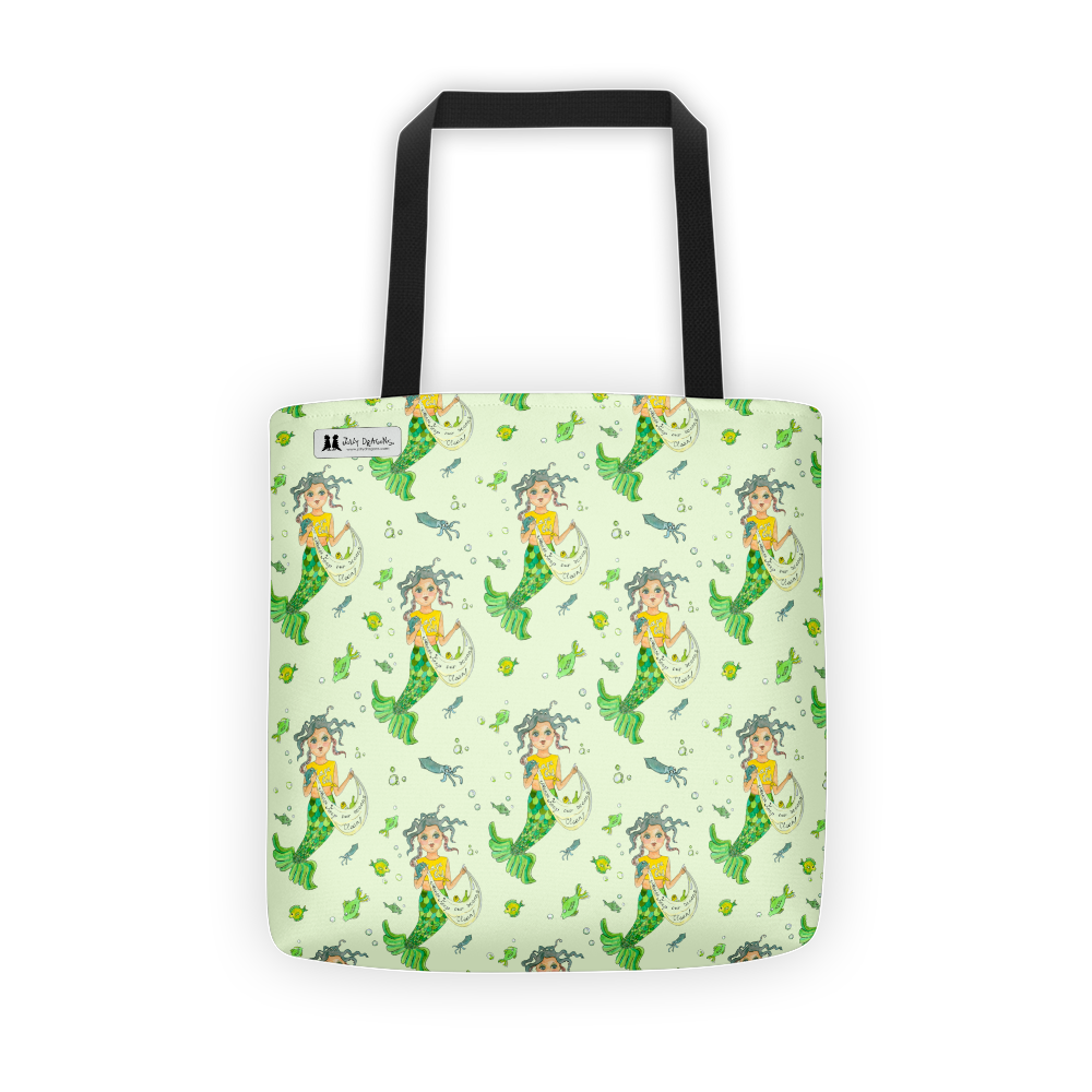 Mermaid Tote - Jolly Dragons