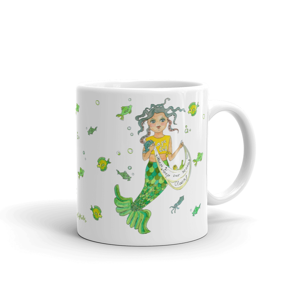 Mermaid Mug - Jolly Dragons