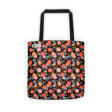 Flowers in Orange Tote - Jolly Dragons