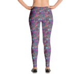 Roses Pink Leggings - Jolly Dragons