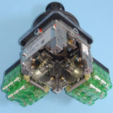 Bottom view of two-axis Spohn and Burkhardt VNSO contactor control master switch.