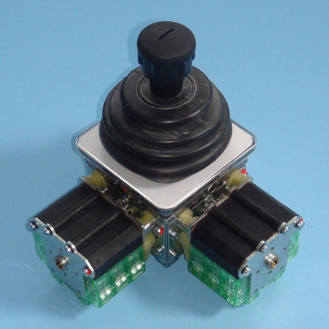 Top view of two-axis Spohn and Burkhardt VNSO contactor control master switch.