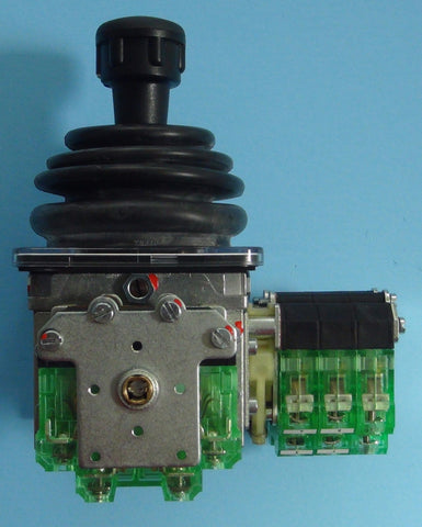 Side view of two-axis Spohn and Burkhardt VNSO contactor control master switch, looks like a single-axis version.