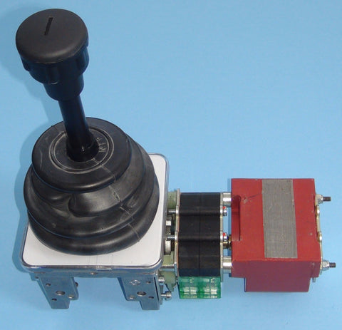 Top view of one-axis Spohn and Burkhardt VNSO Static Stepless control master switch.