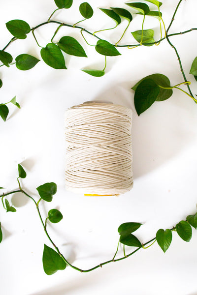 5mm Cotton Single Strand String
