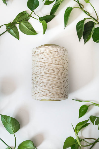 3mm Natural Cotton Single Strand String