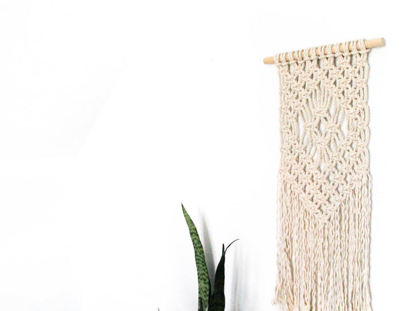 West Elm Macrame Wall Hanging Workshop - October 5, 2017