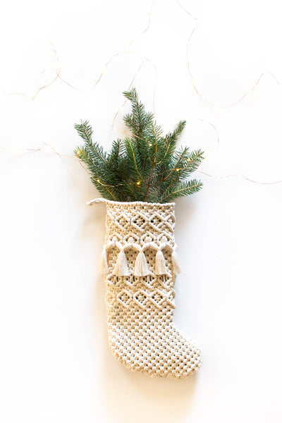 Macrame Stocking III